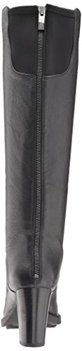 Aerosoles Women's Real Fact Knee High Boot, Black Leather, 7.5 M US