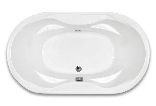 Oval Drop In Bath - 3