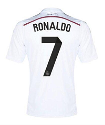 best loved fcdb7 49922 Amazon.com : Cristiano Ronaldo jersey, Real Madrid home ...
