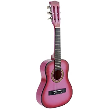 5f1a9e3d0c77a Amazon.com  Star Kids Acoustic Toy Guitar 31 Inches Color Pink ...