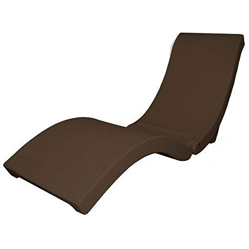 SwimWays Terra Sol Sonoma All Weather Rattan Swimming Pool Chaise Lounge Float