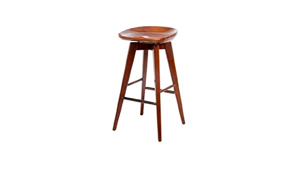 Awe Inspiring Amazon Com Boraam 55129 Bali Swivel Stool 29 Inch Walnut Squirreltailoven Fun Painted Chair Ideas Images Squirreltailovenorg