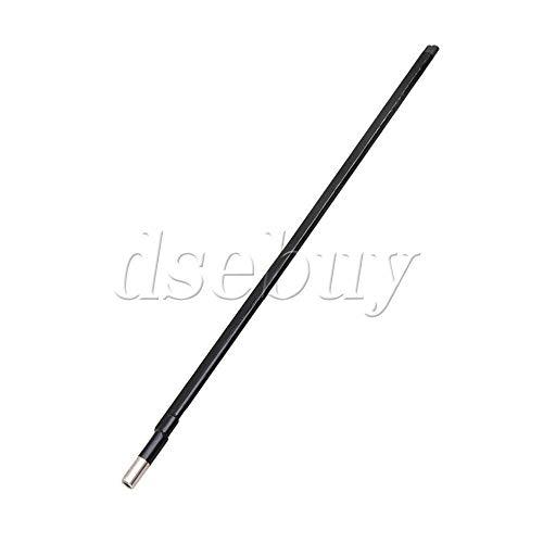 FidgetGear 360MM Length 9MM Dia Two Way Adjustment Steel Truss Rod for Guitar Black from FidgetGear