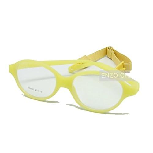 1b03de9a02 enzodate un Morceau de niños gafas no – Tes gafas lente ORDINAIRES, plegable  y correa