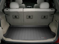 (WeatherTech Custom Fit Cargo Liners for Jeep Liberty, Black)