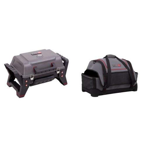 Char-Broil TRU-Infrared Portable Grill2Go Gas Grill Bundle (Renewed)