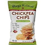 Maya Kaimal Seeded Multigrain Chickpea Chips, 4.5 Ounce - 12 per case.