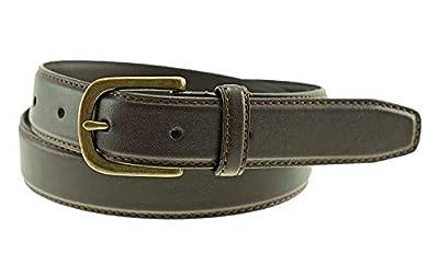 Thomas Bates Coleman Boys Leather Belt (30, Brown)