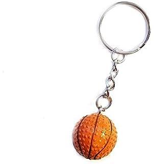 TOOGOO Cadena de enlace de bola Llavero en Forma de baloncesto de ...