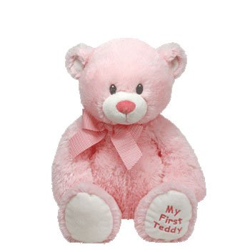 9db9a48b1f9 TY Classic Plush Pluffie - SWEET BABY the Bear (Pink - 15 inch ...