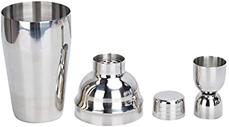 Songway - Juego de 12 piezas para coctelera, juego de coctelera de camarero, 350/550/750 ml, cobbler Shaker, muddler, jigger, sacacorchos, colador, verter, abrebotellas (750 ml)