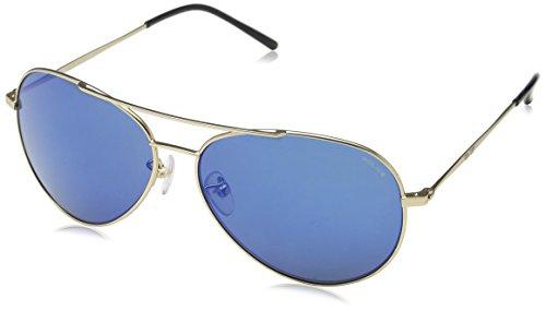 Police, Lunettes de Soleil Homme Blue (Semi Matt Rose Gold)