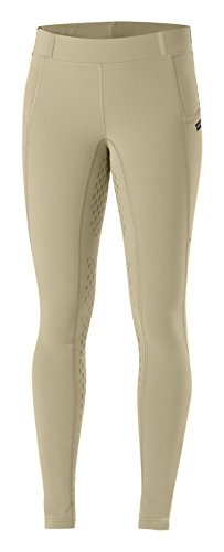 Kerrits Ice Fil Tech Tight Tan Size: Large