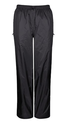 Viking Women's Windigo Waterproof Rain Pant, Black, Medium
