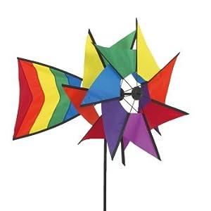 Windspiel - Windmill 77 RB - UV-beständig und wetterfest - Windräder: Ø40cm,...