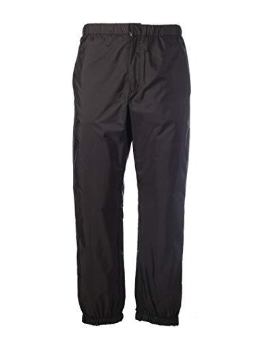Prada Men's Spg60s191q04f0qtx Black Polyamide Pants