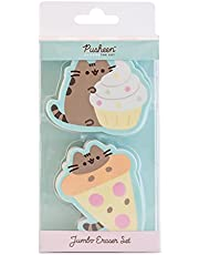 Erik® Pusheen Foodie Collection Gummen | Set van 2 Pusheen Gummen