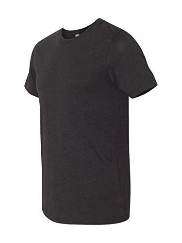 CN MEN GREENWICH FITTED TEE, BLACK HEATHER, M