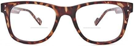 Retro Eyeworks Superflex Wayfarer Bifocal Anti-glare Reading Glasses 51-19 MM 1.5x Tortoise