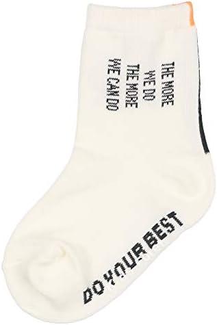 【子供服】 Kids Foret (キッズフォーレ) ロゴ柄クルーソックス・靴下 11cm~17cm B33301