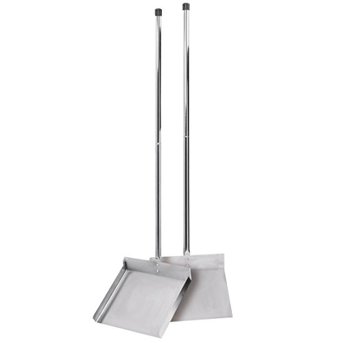Clean-Go-Pet-Sanitary-Scoop-Shovel-Jumbo-Silver