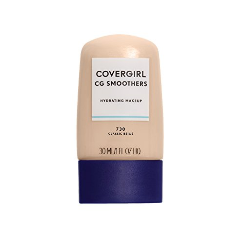 COVERGIRL Smoothers  Hydrating Makeup Classic Beige, 1 oz Cover Girl Smoothers Liquid Makeup