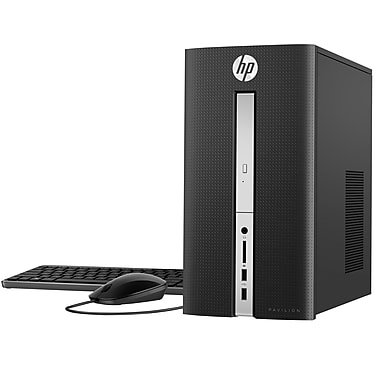 Newest HP Pavilion Flagship High Performance Desktop, Intel Core i5-7400 Quad-Core, 12GB DDR4, 1TB HDD, DVD RW, Bluetooth 4.2 M.2, WIFI, Windows 10, Wired Keyboard and Mouse
