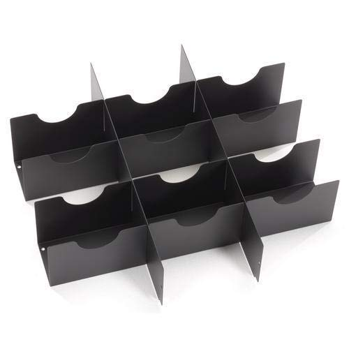 (Black Box RMMT22, Rackmount Media Storage Drawer, Pack of 3 pcs)
