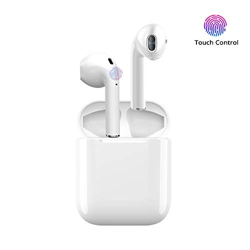 Wireless Bluetooth Headset, i10 Wireless Headset Stereo Bluetooth Headset Outdoor Portable Wireless Bluetooth Earphones for Apple Airpods Android iPhone
