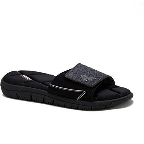 AND1 Herren Baller Slide Sandale Schwarz
