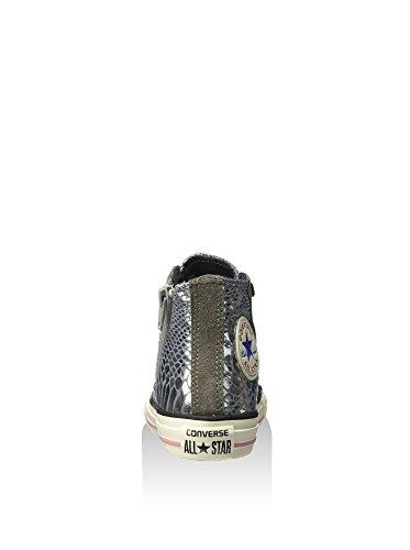 Eu Taylor Textile Sneaker Side suede Converse Chuck Wildleder 28 High Mädchen Zip Print Hi 5FxqWOWpwB