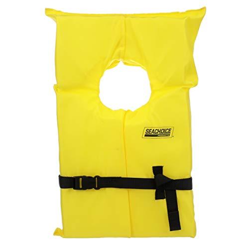 Seachoice 86020 Type II Personal Flotation Device Yellow Adult