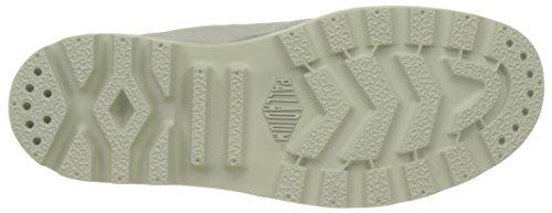 Palladium 92353, Zapatillas Altas Mujer Gris (Vapor/Silver Birch/Hawaii Print)