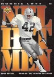 1993 Upper Deck #58 Ronnie Lott HIT Near Mint/Mint