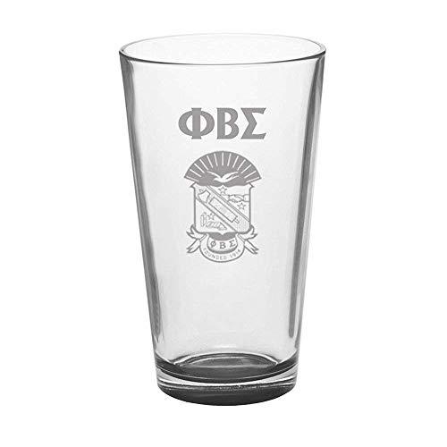(Greekgear Phi Beta Sigma Mixing Glass Transparent)