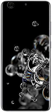 Samsung Galaxy S20 Ultra 5G Factory Unlocked New Android Cell Phone US Version, 128GB of Storage, Fingerprint