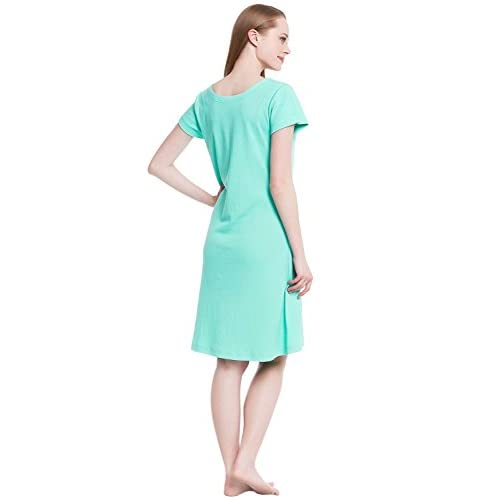 durable service Del Rossa Womens Cotton Knit Nightgown 94b31b802