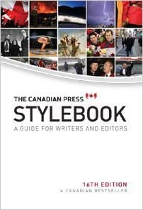 canadian press stylebook 16th edition