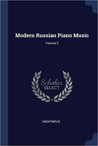 Modern Russian Piano Music
