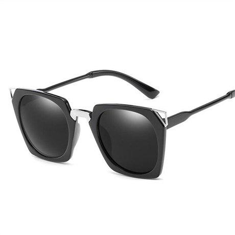 Gafas Gafas de GGSSYY Gafas sol de Black gran para moda marca sol la Rosa de de de vendimia la sol de mujer diseñador cuadradas de tamaño de drrBq6w