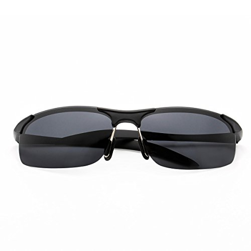 JOGAL Homme de Black Lunettes soleil lens gray legs qq7rS8