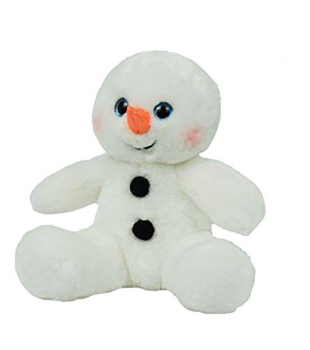 Sweet Snowman - Cuddly Soft 8 inch Stuffed Sweet Snowman...We stuff 'em...you love 'em!