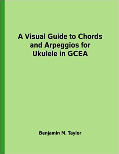 Amazon A Visual Guide To Chords And Arpeggios For Ukulele In