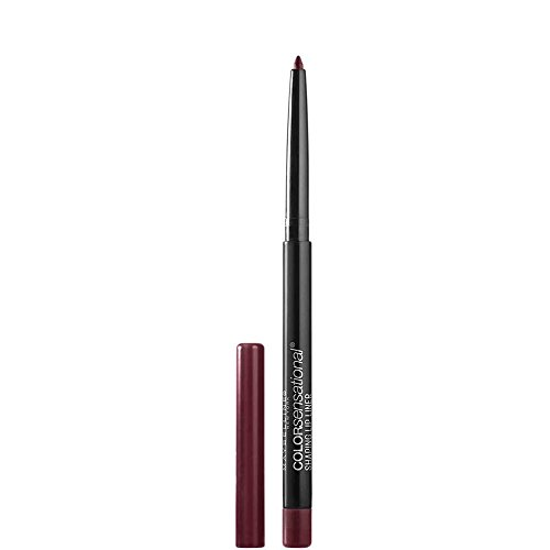 Maybelline Makeup Color Sensational Shaping Lip Liner, Plum Passion, Plum Lip Liner, 0.01 oz