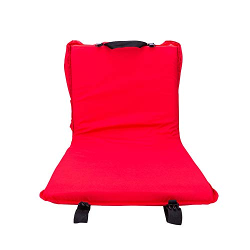 DLLzq Legless Outdoor Chair, Comfortable and Lightweight Cushion Restswith Reclining Back Support Ideal for Boats Stadium Seats Camping Festivals Picnics