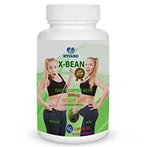 X-BEAN - 100% Pure GREEN COFFEE EXTRACT CGA 50% - 60 day supply
