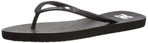 Dc Kvinners Spray Sandal 3 Punkt Sandal Svart / Hvit / Sort