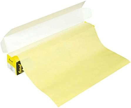 """- 12/"""" x 12ft Tracing Down Yellow Saral Wax-Free Transfer Paper Roll"""