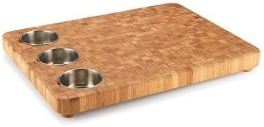 3 bowl prep board