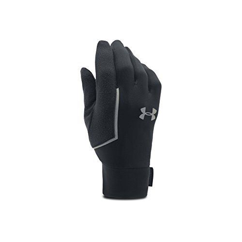 Under Armour Men's No Breaks Armour Liner Golves, Black/Black, Medium (Armour Gloves Under Motorcycle)